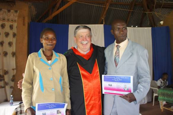 Traillblazer Tony Smits Bible College Graduation in Kisii Kenya